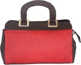 Felicita Hand-held Bag (Black, Red)