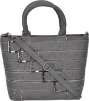 Violet Hand-held Bag(GREY)