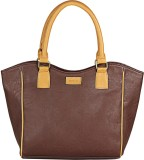 Purseus Shoulder Bag (Brown, Khaki)