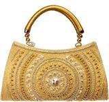 Louise Belgium Hand-held Bag (Gold)