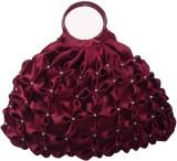 Rosy Hand-held Bag (Maroon)