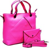 Vidorra Kippis Hand-held Bag (Pink)