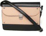 Dressberry Sling Bag (Black, Orange)