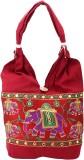 Shop Frenzy Shoulder Bag (Maroon)