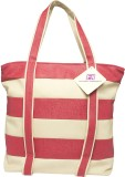 Fashion Knockout Tote (Red, White)