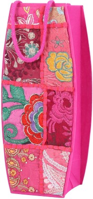 Rajrang Bottle Bag(Pink)