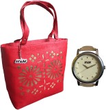 ARC HnH Hand-held Bag (Red, Multicolor)