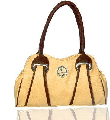 Black & Yellow Hand-held Bag