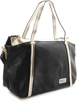 Murcia Hand-held Bag(Black and Blue)