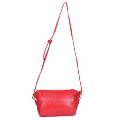 Aquila Women Red PU Sling Bag