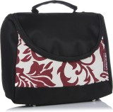 Home Heart Hand-held Bag (Black, Red)