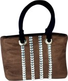 Arisha Kreation Co Hand-held Bag (Brown)