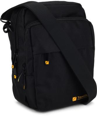 Travel Blue Sling Bag(Black)