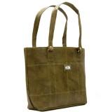 Dute Hand-held Bag (Yellow, Brown)