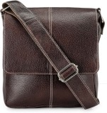 Teakwood Messenger Bag (Black)