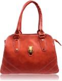 Leather Land Shoulder Bag (Orange)