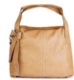 Lychee Bags Shoulder Bag (Beige)