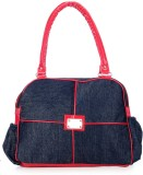 Frosty Fashion Hand-held Bag (Blue, Red)