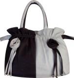 PRG Elegance Shoulder Bag (White, Brown)