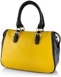 Kelvin Straw Hand-held Bag (Yellow)