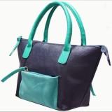 Jeane Sophie Hand-held Bag (Blue, Green)
