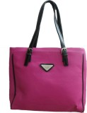 Berries Shoulder Bag (Pink, Black)
