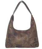 Matrix Shoulder Bag (Brown)