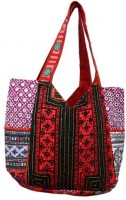 The Indian Handicraft Store Hand-held Bag(Multicolor)