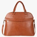 Pink Rose Shoulder Bag (Brown)