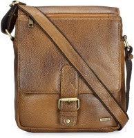 Teakwood Messenger Bag(Tan)