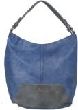 Gussaci Hand-held Bag (Blue, Black)