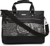Peter England Messenger Bag (Black)