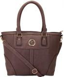 9Design Shoulder Bag (Beige, Brown)