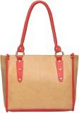 Fostelo Shoulder Bag (Beige, Red)