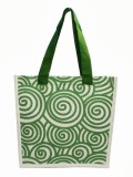 Jute Tree Tote (Green)