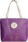 Saffron Craft Shoulder Bag (Purple)