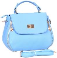 Frosty Fashion Tote(Blue)