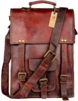 pranjals house Messenger Bag(brown)