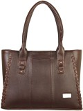 Louise Belgium Hand-held Bag (Brown)