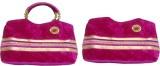 Mahalakshmi Hand-held Bag (Pink)