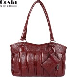 Costa Swiss Hand-held Bag (Maroon)