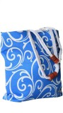 Tara Lifestyle Messenger Bag (Blue)