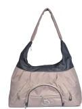 Black & Yellow Shoulder Bag (Beige)
