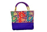 Sampoornam India Messenger Bag (Blue)