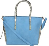 Saffron Craft Shoulder Bag (Blue)