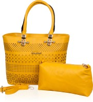 Pankhudi Shoulder Bag(Yellow)