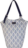 Haute Potli Shoulder Bag (White, Blue)