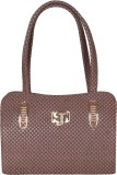 Leinwand Shoulder Bag (Brown)