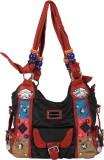 Bags Craze Shoulder Bag (Black, Blue)