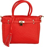 Lion Heart Hand-held Bag (Red)